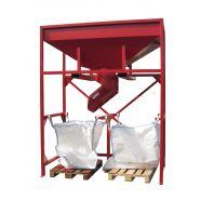Trémie pour big bag - Geco - Manutentionnée au chariot élévateur