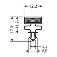 JOINT PVC MAGNETIQUE POUR MEUBLES FRIGOS JPC-102