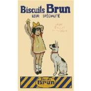 BRODERIE BISCUIT BRUN