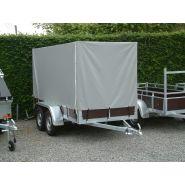 Bâche, filet et capot pour remorque - Indu Tex - Toile PVC 700 g/m²,