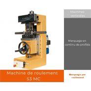 S3 MC - Marquage par roulement - Agicom - Marquage en continu de profilés