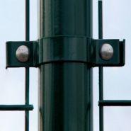Colliers pour grilles pare-ballons - Fixation pour clôture - SODEX - Couleur Vert