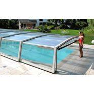 Abri piscine mi-haut Siena / télescopique