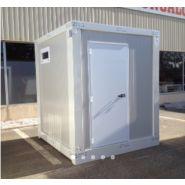 Bungalows de chantier / monobloc / sanitaire / aménagé / 2.35 x 2.20 m