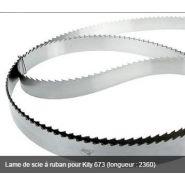 LAME DE SCIE À RUBAN POUR KITY 673 (LONGUEUR : 2360)