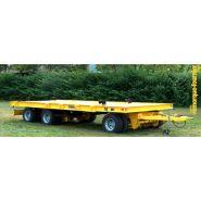 Remorque plateau pour poids lourd - Fournier - 3 essieux