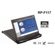 """RP-F117 - ECRAN LCD RACKABLE 17"""" FULL HD SUR TIROIR COULISSANT RÉSOLUTION 1080P"""
