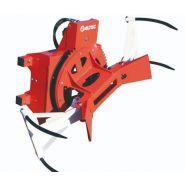 M10G TURN - Griffe à retournement 4 dents cintrées - Altec - Pour boules rondes jusqu'à 1.70 m (2m en option) - Retournement intégré 180°