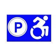P-10027 - Panneau place handicapé - Vos panneaux ideosign - Format 20 × 30 cm