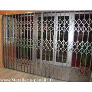 DELIAL - Grille de protection d'entrée - Panella - grille extensible et coulissante