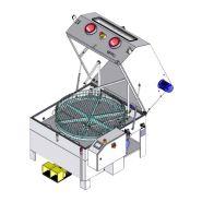 Laveur avec panier rotatif et gants - capacité : 950x540 mm - meca esa2-100