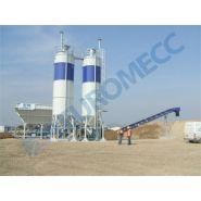 2 mix/cma centrale à béton - euromecc - mobile - 150 m3/h