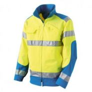 BLOUSON HV CL2 LUK LIGHT JAUNE/BLAD BLUE TM