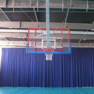 EI4009 - Rideau en tissu polyester pour séparation - Nouansport - 270g/m2