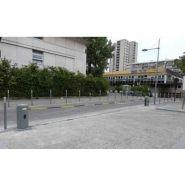 Bl0567 - barrière à chaîne automatique motorisée - automatismes batiment - 35 m