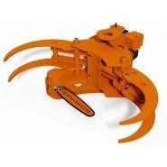 Grappin coupeur forestier Axer 460 S - Axer - Ouverture max 1260 mm - Diamètre de coupe 500 mm