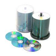CD-R 52X, 700 MO, IMPRIMABLE ARGENTE THERMIQUE POUR PRISM - REF: 308-01697