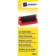 Avery boîte de 5 rouleaux encreur noir pour pince à étiqueter avery pl1/8 et pl2/18 irav5