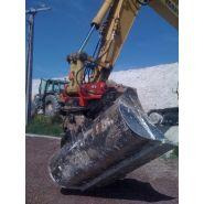 Attaches rapides type lehnhoff 2 à 40 tonnes