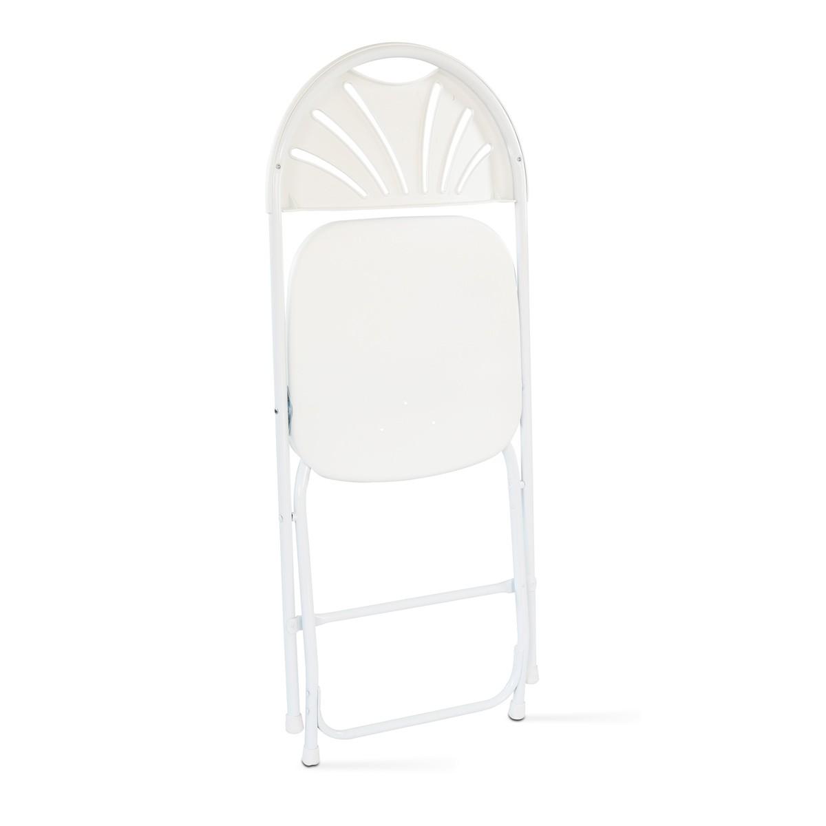 Chaise Pliante Et Housse De Blanche