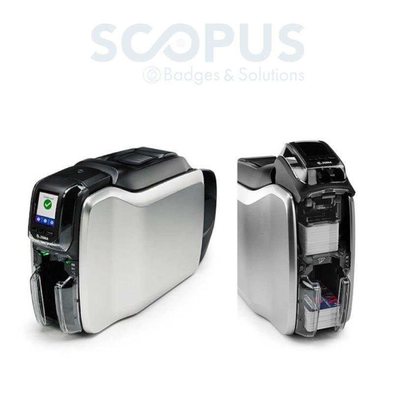 Imprimante à badges professionnelle zc350