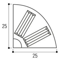 Bordure Dîlot Directionnel I2 14 Rond