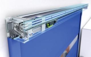 Porte rapide speedcore / souple / en plastique / utilisation intérieure / 3000 x 3000 mm