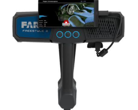 Scanner 3d à main faro® scanner freestyle3d