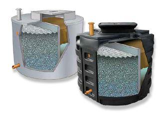 Filtre compact biofrance® passive   deux cuves  15 eh