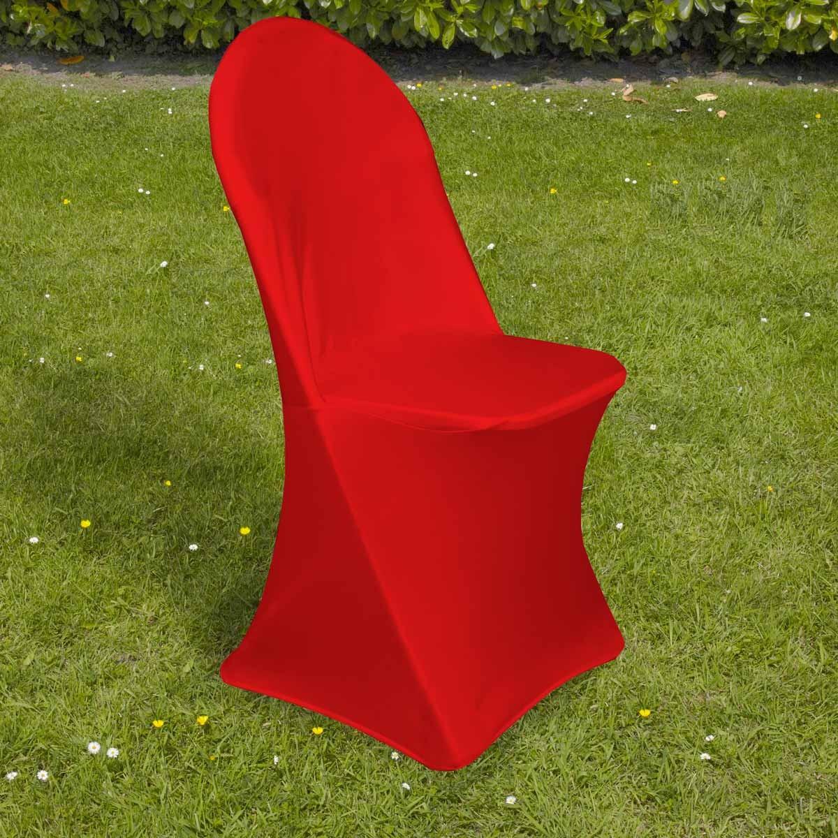 Housse De Chaise Pliante Rouge