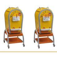 1/4 hoop click-machine à glace italienne professionnelle - innovaitalia -