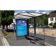 Abri bus design héritage 3 m