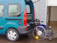 Le ladeboy pour fauteuil à châssis rigide