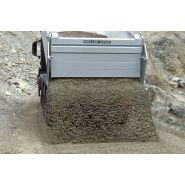 Benne basculante - meiller - pour les gros blocs rocheux - disponible pour châssis à 3 et 4 essieux
