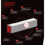 Inogam evo - remorque frigorifique - chereau - poids à vide 429 kg