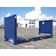 Container 20 pieds flat rack