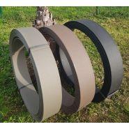 Bordure à dérouler bad14/20n urbi roul' naturel 100% recyclé