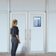 Porte-affiches muraux adhésif avec fermeture magnétique vit'affiche® a4 et a3