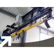9070 - convoyeur aérien  - société alm - charge de 0 à 2000 kg