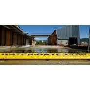 Wl - barrières de rétention d'eaux d'incendie - megasecur - hauteur en pouces 20