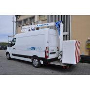 15vtj - fourgon nacelle - socage nacelle - poids 225 kg