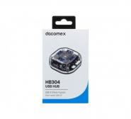Dacomex hb304 hub 4 ports usb 3.0 réf.21316