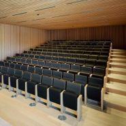 Racine - fauteuil pour salle de spectacle - quinette gallay - encombrement assise relevée : environ 40 cm