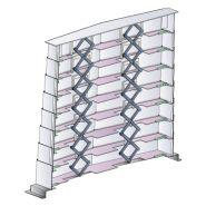 Protecteurs télescopiques - metal gennari - vis spéciales en acier