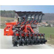 Rapidlab planche - charrue agricole - bugnot - modulable de 8 à 10 corps en châssis fixe