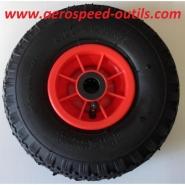 """Rr300x4x1r20-roue gonflable jante résine roulements axe 20 mm en 3.00-4"""""""