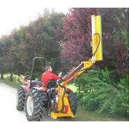 Taille-haie hydraulique th 240r - kirogn - hauteur de coupe horizontale maxi 2.40 m, verticale maxi 4.70 m