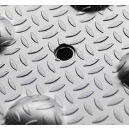 Bande podotactile vigiligne aluminium larmé extérieure