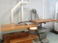 Table nidek coulissante avec bras refracteur automatise