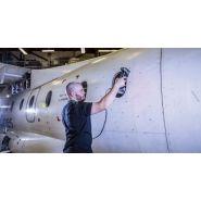 Inspection de surface cnd - mro en aérospatiale - handyscan aeropack